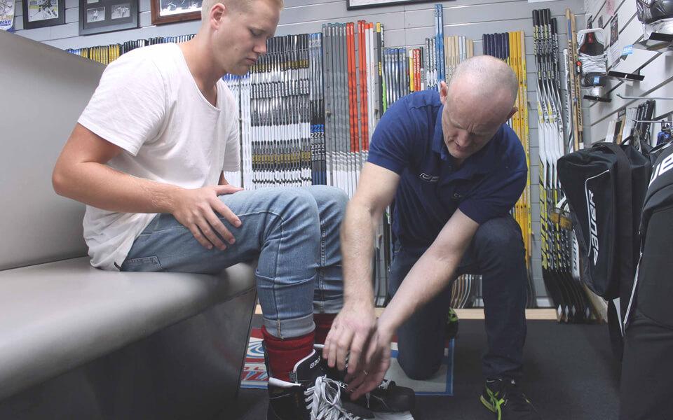 Skate-Fitting