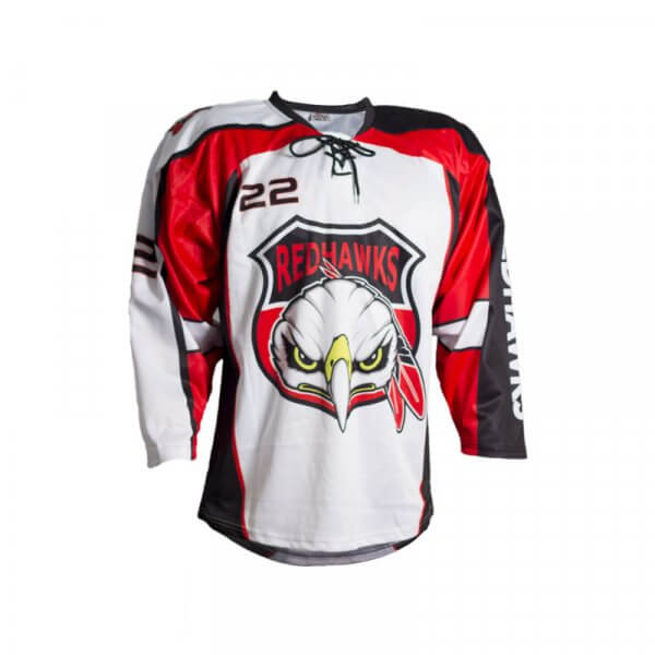 Red Hawks Inline Jersey Home