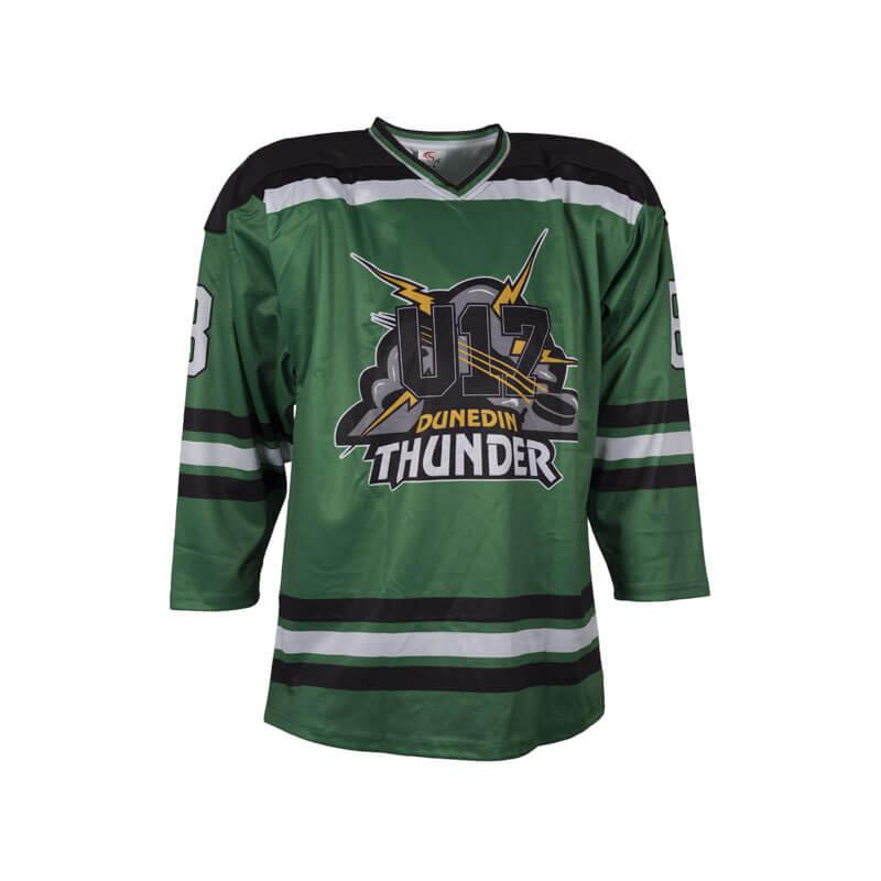 Dunedin Thunder U17 team jersey