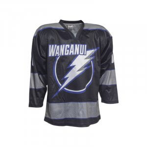 Wanganui Inline Hockey Home Jersey